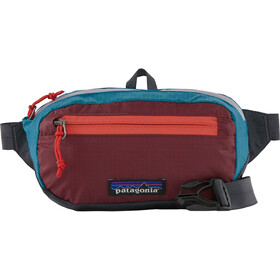 Patagonia Ultralight Black Hole Mini Hip Pack patchwork/roamer red